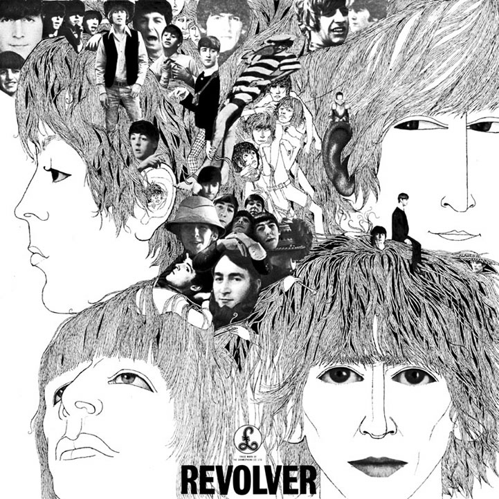 Front Cover. Revolver. The Beatles 1966.